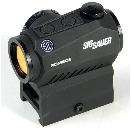 Sig Sauer Romeo5 1x20mm 2 MOA Red Dot Sight w/ Mounts - - Spyder Sight