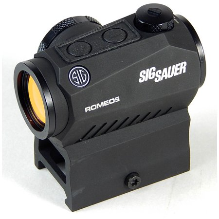 Sig Sauer Romeo5 1x20mm 2 MOA Red Dot Sight w/ Mounts - (Black Tactical Sight)