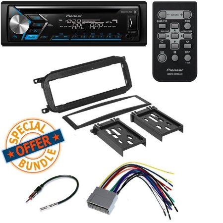 PIONEER DEH-S4000BT CD MP3 USB BLUETOOTH 13 BAND EQ CAR STEREO SPOTIFY RADIO Aftermarket Single-Din Car Stereo Mount for Dodge Radio Install Dash Kit