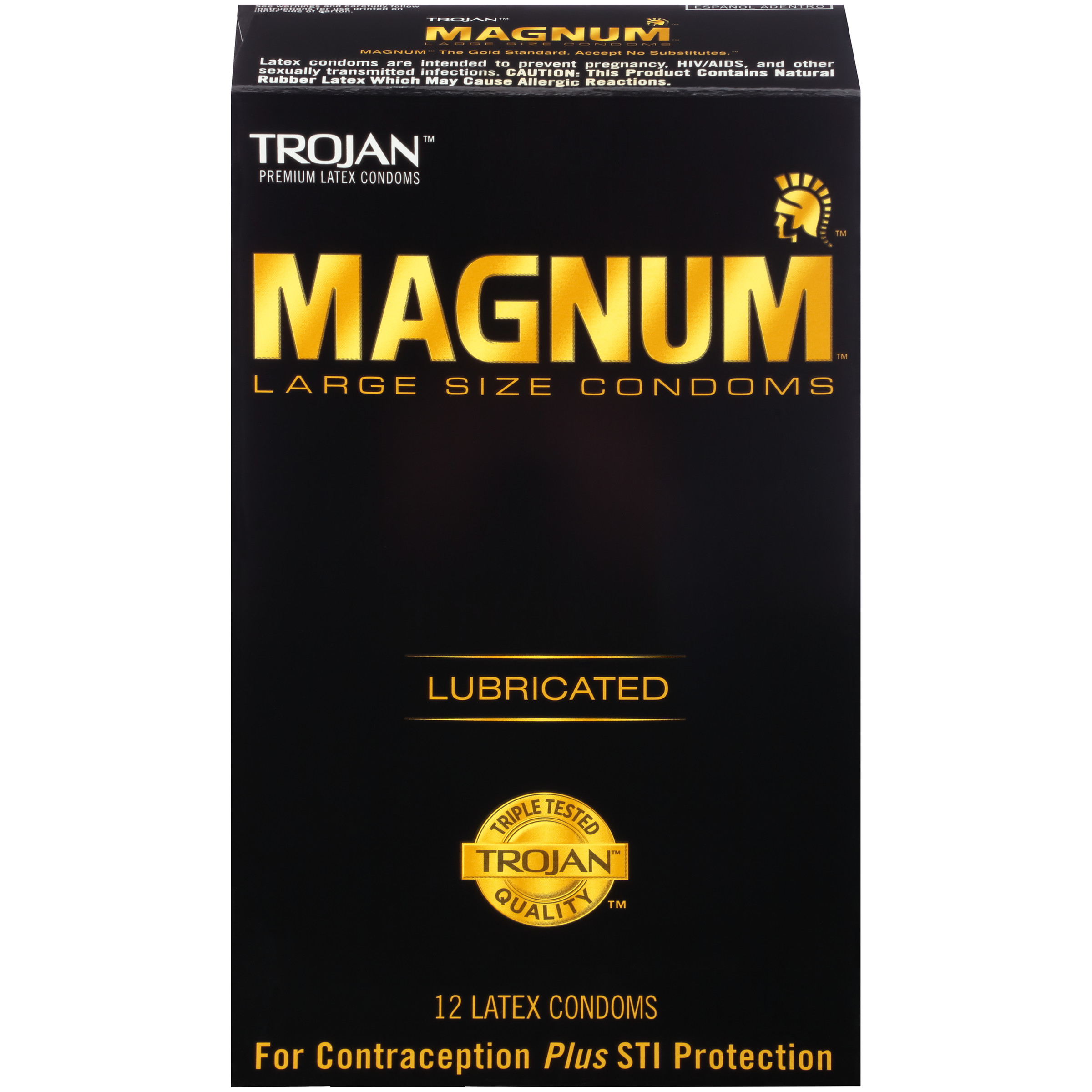 MAGNUM Large Size Condoms, 12ct