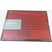 Refurbished Microsoft Surface 3 Type Cover English US/Canada Hdwr, Red (A7Z-00005)