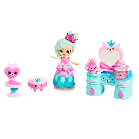 Shopkins Happy Places Welcome Pack Small Doll Playset, Fabulous Fox Vanity