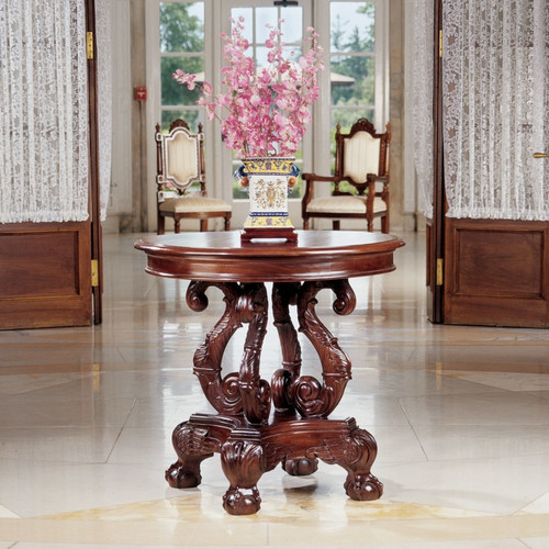 Design Toscano Grande Del Corridoio Accent Table