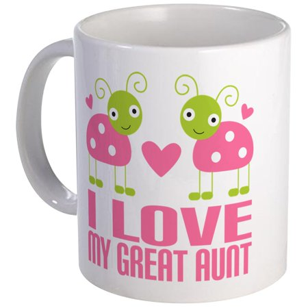 CafePress - I Love My Great Aunt Mug - Unique Coffee Mug, Coffee Cup (Best Aunt Martha's Aunt Cups)