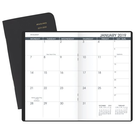 Pocket Planner Calendar - AT-A-GLANCE 2-Year Monthly Pocket Planner - Pocket Calendars