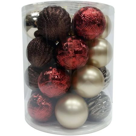 Holiday Time 26ct Drd/brn/chp Gms Ornaments