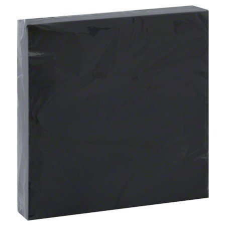 Paper Luncheon Napkins, 6.5 in, Black, 20ct (Black Paw Print Party Supplies)