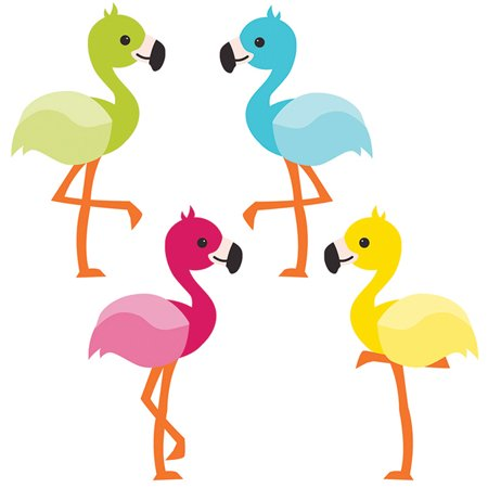 SCHOOL POP FLAMINGOS CUT OUTS Flamingo Cut Out