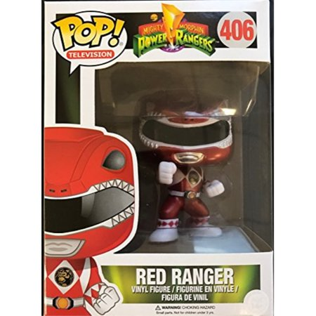 Funko Pop! Mighty Morphin Power Rangers Metalic Red Ranger Action Vinyl Figure