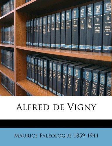 Alfred de Vigny by