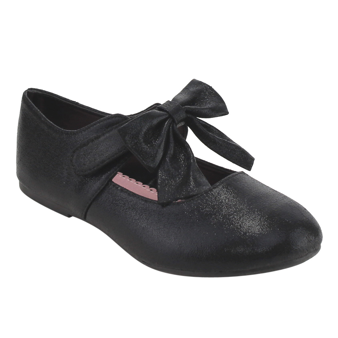 Jelly Beans FH16 Girl's Bowknot Mary Jane Solid Ballet Flats