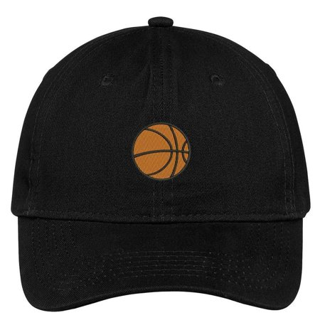Trendy Apparel Shop Basketball Embroidered Soft Low Profile Cotton Cap Dad (Basketball Cap)