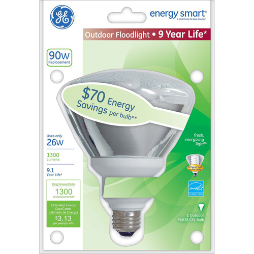 GE energy smart CFL 26 watt PAR38 floodlight 1-pack