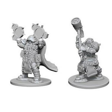 Dungeons & Dragons Nolzurs Marvelous Unpainted Dwarf Male Cleric Miniature Dungeons And Dragons Miniatures Rules