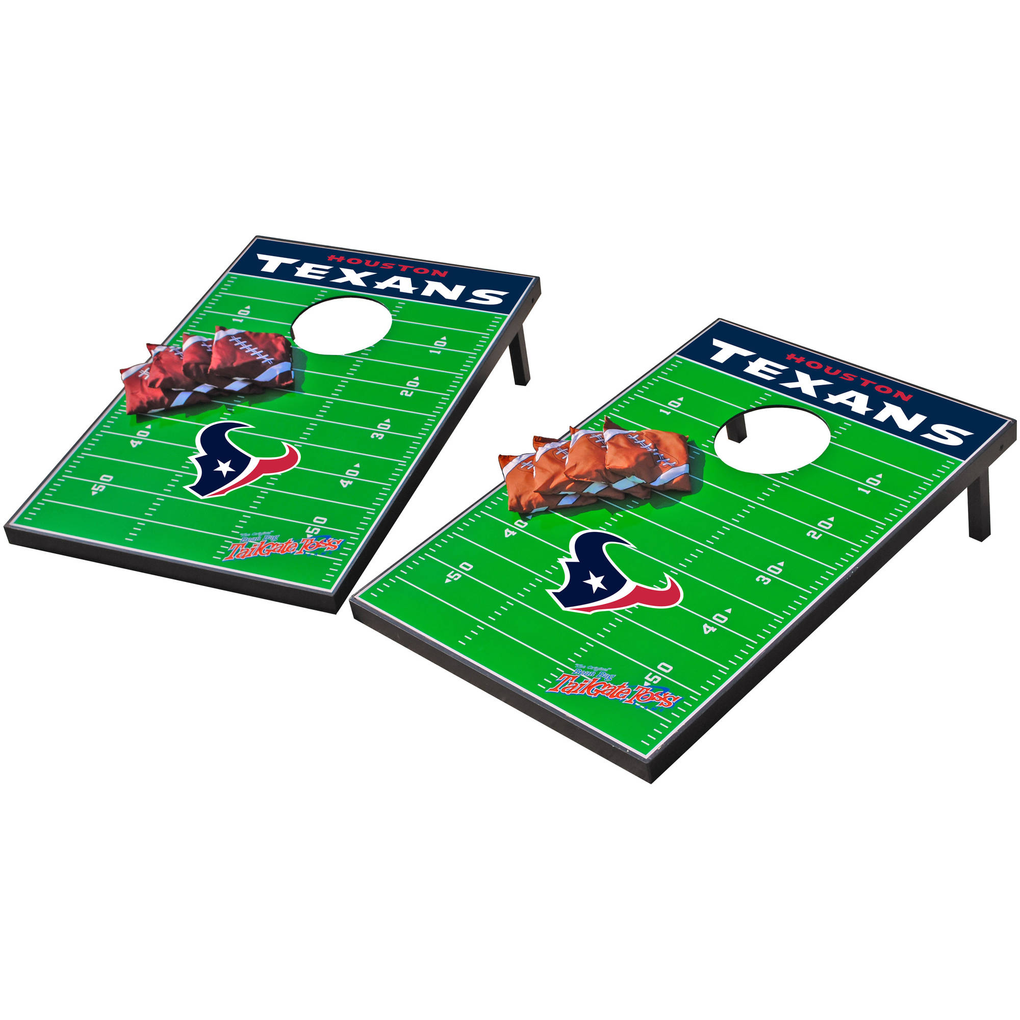 Wild Sports NFL Houston Texans 2x3 Field Tailgate Toss