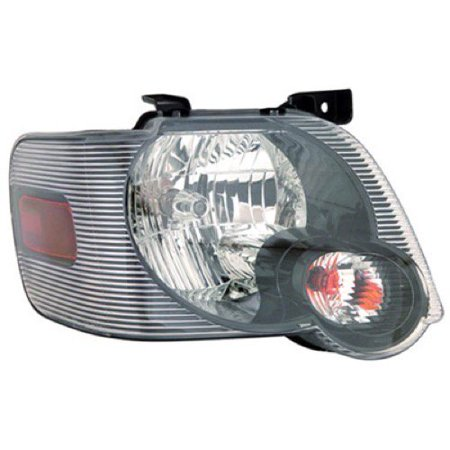 Go-Parts » 2006 - 2010 Ford Explorer Front Headlight Headlamp Assembly Front Housing / Lens / Cover - Right (Passenger) Side 8L2Z 13008 A FO2503230 Replacement For Ford Explorer