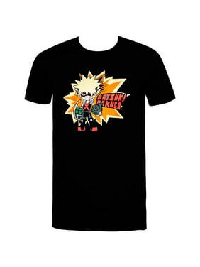 My Hero Academia Bakugo SD Men's T-Shirt-Men's Large