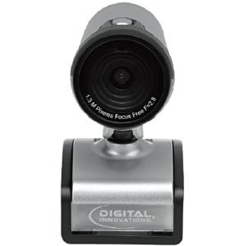 Digital Innovations ChatCam 4310200 Webcam - 1.3 Megapixel - 30 fps - USB 2.0 - 1280 x 1024 Video