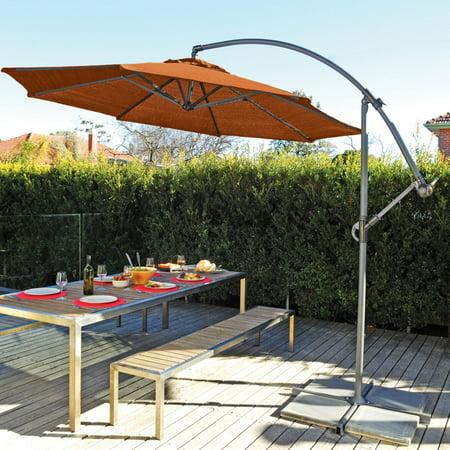 Coolaroo Umbrella Terracotta