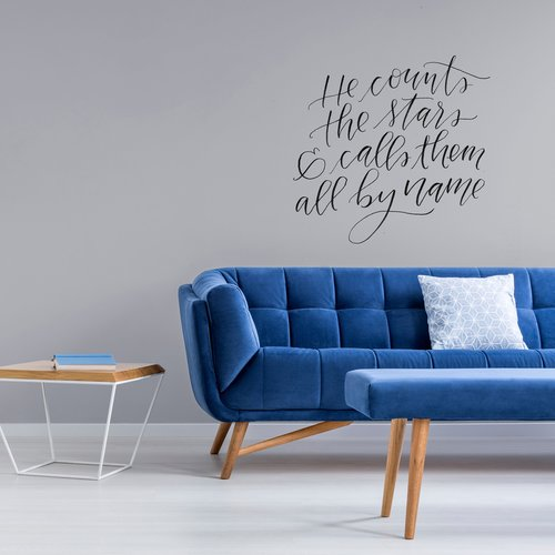Urban Walls He Counts the Stars Wall Decal