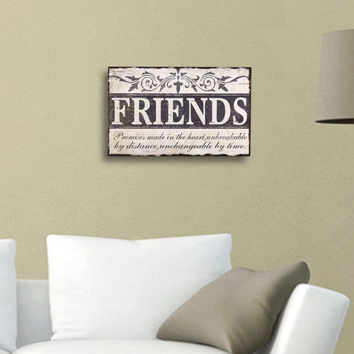 Adeco Trading ''Friends'' Wall D cor