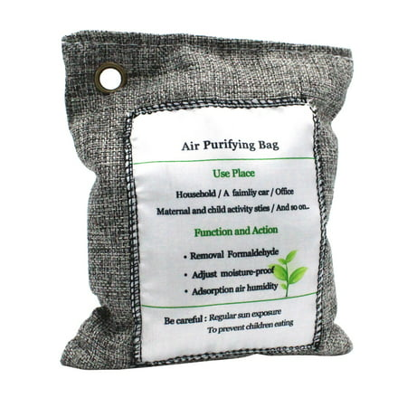 Air Purifying Bag Charcoal Bag Odor Eliminator Fragrance Free Odor Absorber Captures and Eliminates Odors (Best Way To Eliminate Odors)