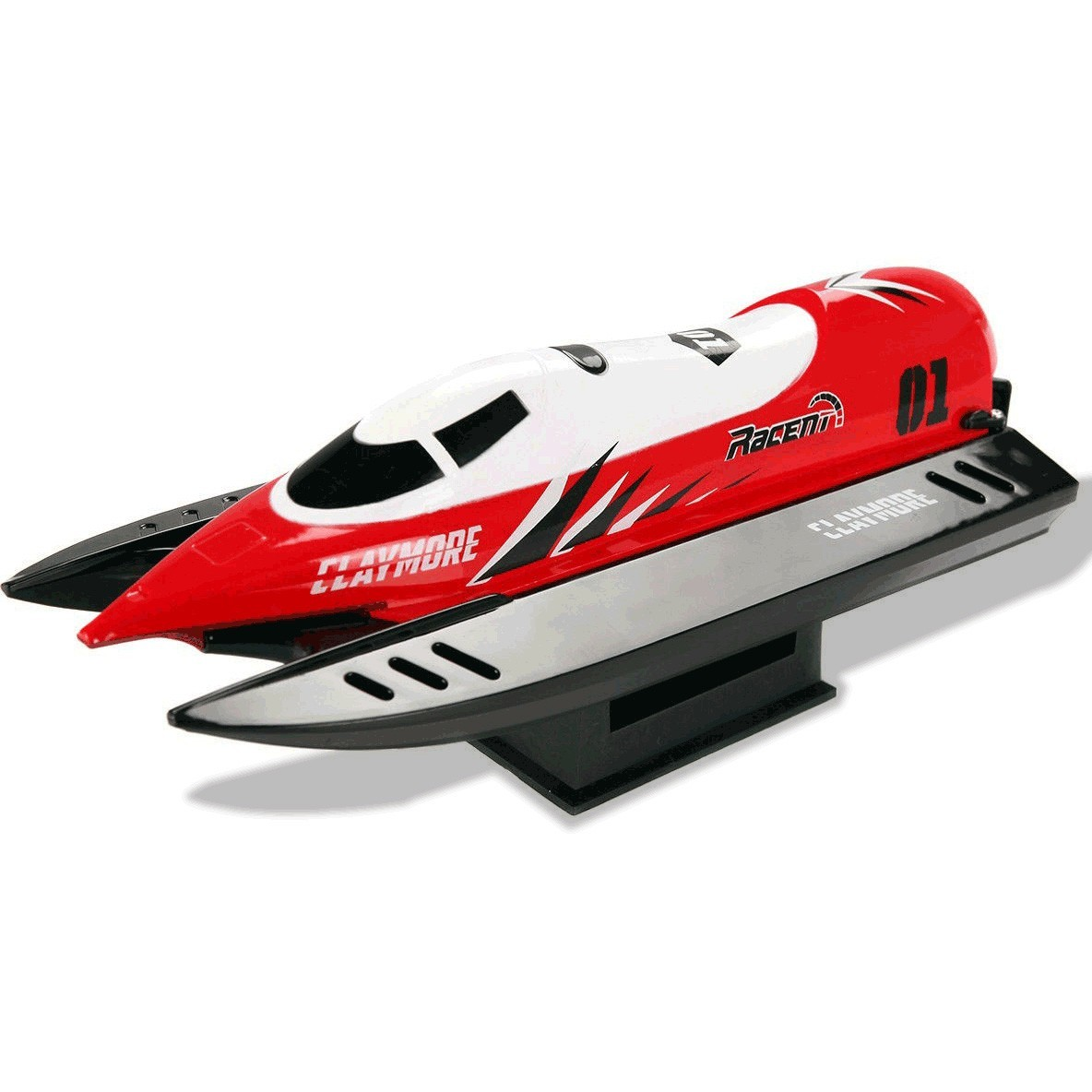 2.4G RTR Auto-roll-back Brushed High Speed RC Racing Boat by
