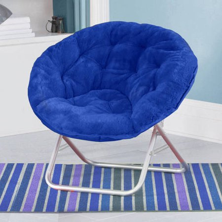 Pleasant Mainstays Faux Fur Saucer Chair Available In Multiple Colors Forskolin Free Trial Chair Design Images Forskolin Free Trialorg