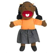 Ethnic Children Puppets - Girl - Dark Tone