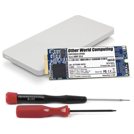 1.0tb Owc Aura 6g Ssd + Envoy Pro Upgrade Kit For 2012 / Early 2013 Macbook Pro