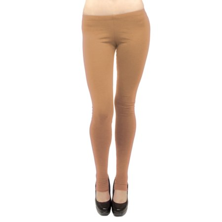Vivian's Fashions Long Leggings - Cotton/Stirrup (Junior and Junior Plus Sizes)