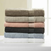 Hotel Style Pima Cotton Bath Towel Collection with Air Rich Technology