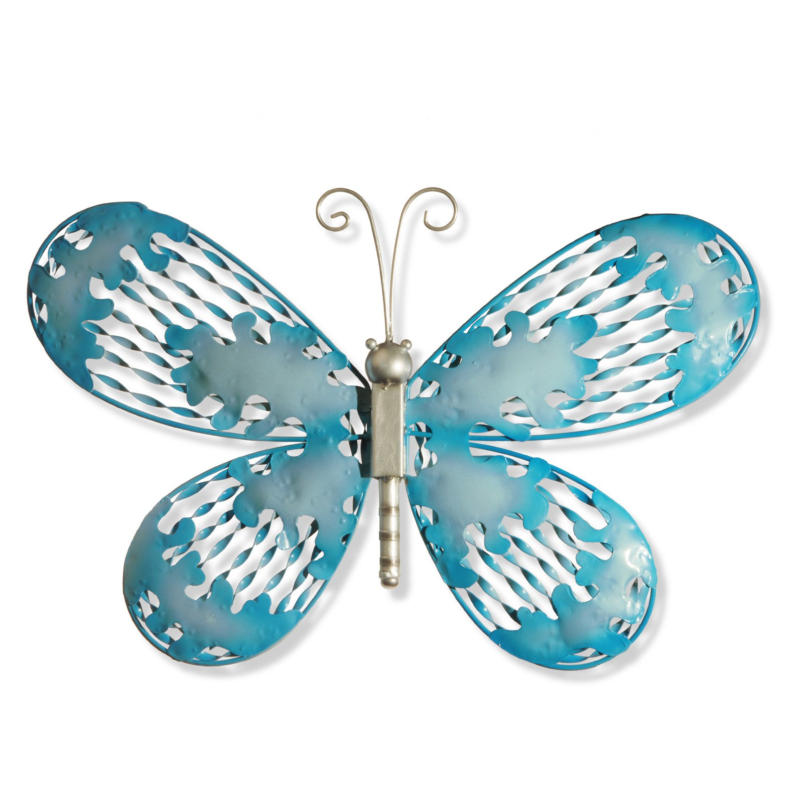 """18"""" Blue Butterfly Wall Decoration"""