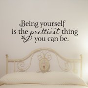 Belvedere Designs LLC Prettiest Thing Wall Quotes  Decal