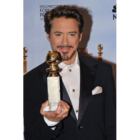Robert Downey Jr In The Press Room For The 67Th Annual Golden Globes Awards - Press Room Beverly Hilton Hotel Beverly Hills Ca January 17 2010 Photo By Tony GonzalezEverett Collection