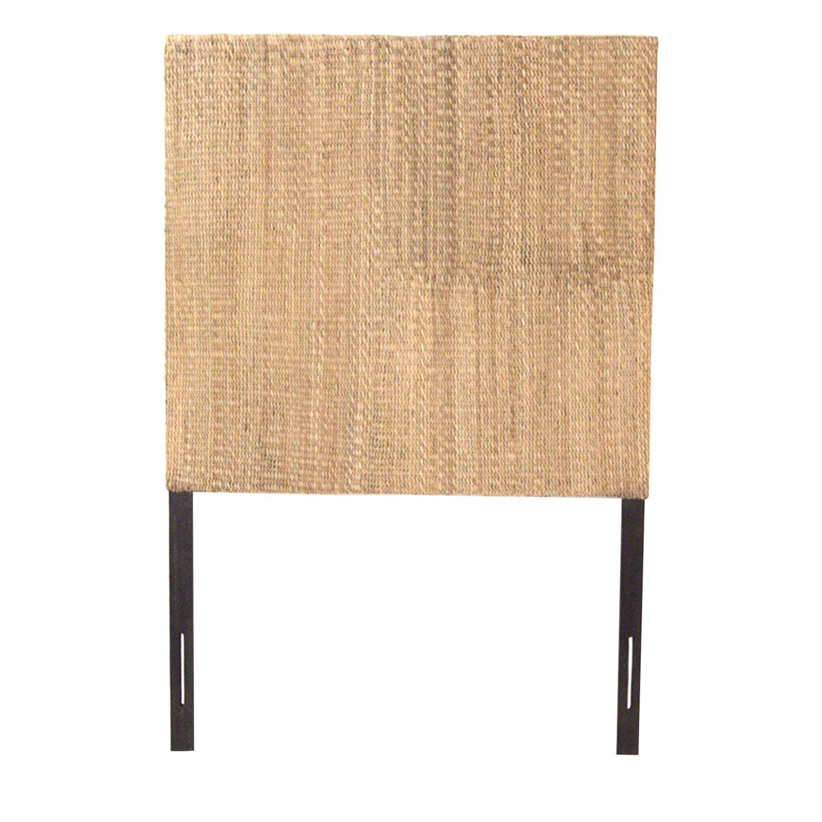 Padmas Plantation Grass Weave Headboard