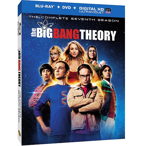 The Big Bang Theory: The Complete Seventh Season (Blu-ray + DVD + Digital HD With UltraViolet) (Widescreen)