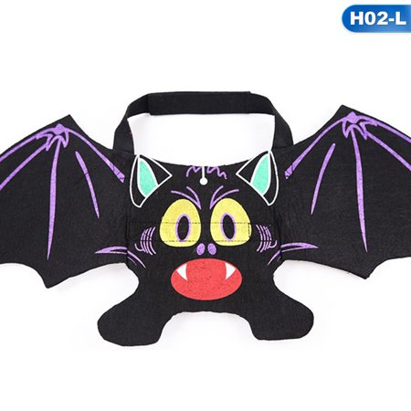 Cute Puppies Dressed Up For Halloween (KABOER 2019 New Creative Pet Halloween Costume Cat Dog Bat Wings Puppy Cat Cool Bats Dress Up Costume Pet Holiday Party)