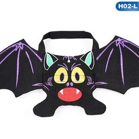 No 2019 Halloween Skins (KABOER 2019 New Creative Pet Halloween Costume Cat Dog Bat Wings Puppy Cat Cool Bats Dress Up Costume Pet Holiday Party)