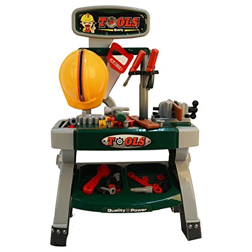 Kids Adventure Plastic Tool Work Bench Table (40-piece Pack)
