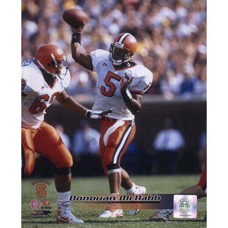 Donovan McNabb Syracuse University 1998 Action Sports Photo