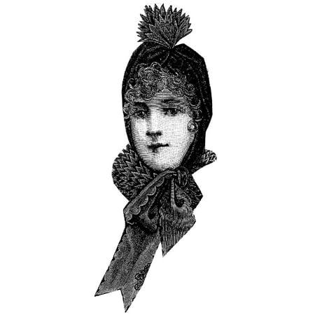 Sewing Pattern: 1891 Sleighing Hood](Hooded Cloak Pattern)