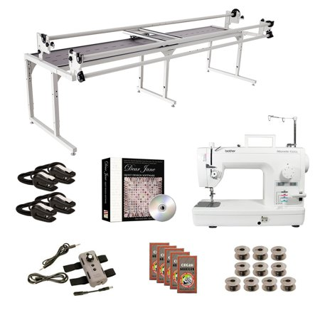Brother PQ1500SL Grace 10' Continuum with Speed Control Machine Quilting Combo (Brother Pq1500sl High Speed Quilting And Sewing Machine)