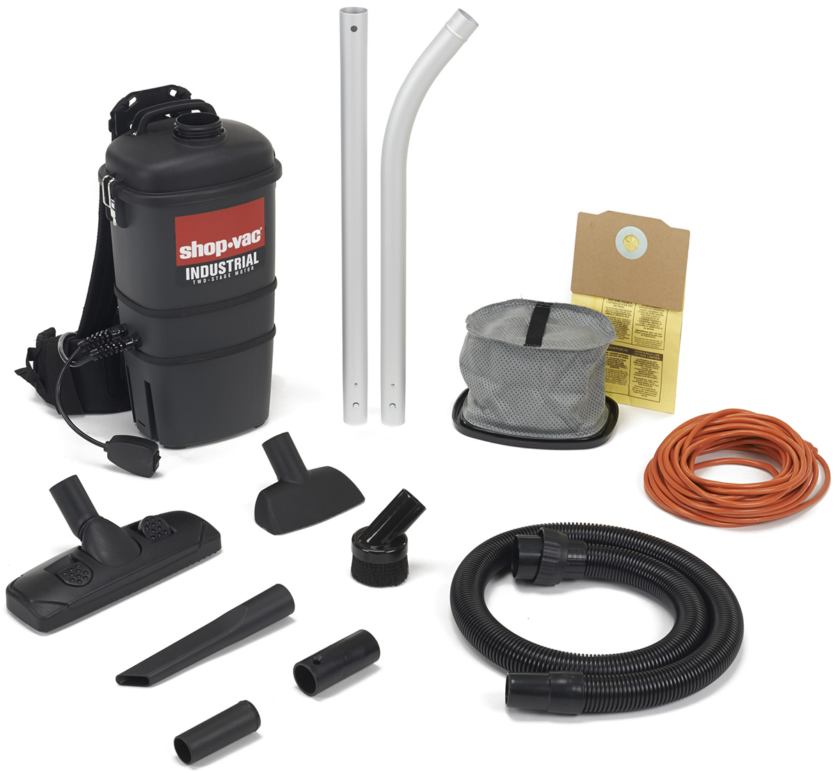 Shop-Vac 2.0 Peak--Two-Stage Commercial Back Pack Vacuum, 2850010