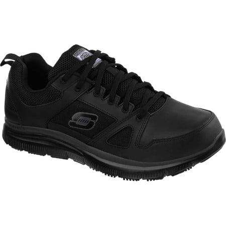 Skechers Work Relaxed Fit Flex Advantage Slip Resistant Athletic Shoe (Men's)