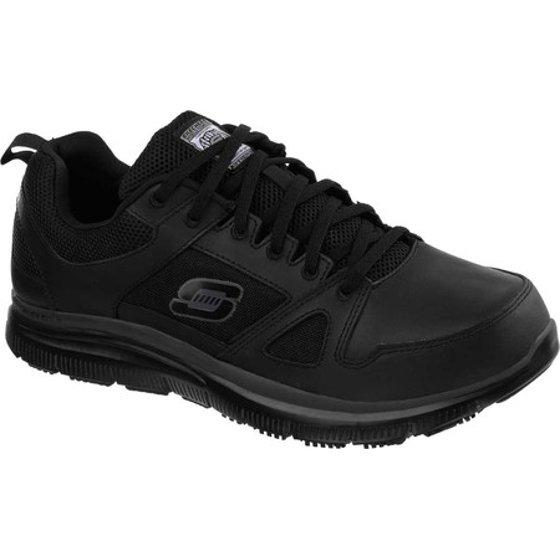 Skechers Work Men's Flex Advantage Slip Resistant Soft Toe Shoes