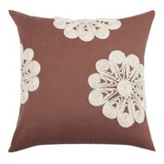 A1 Home Collections Dori Floral Embroidered Throw Pillow