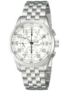 Airboss Mechanical Automatic Chronograph Steel Mens Watch Date 241621