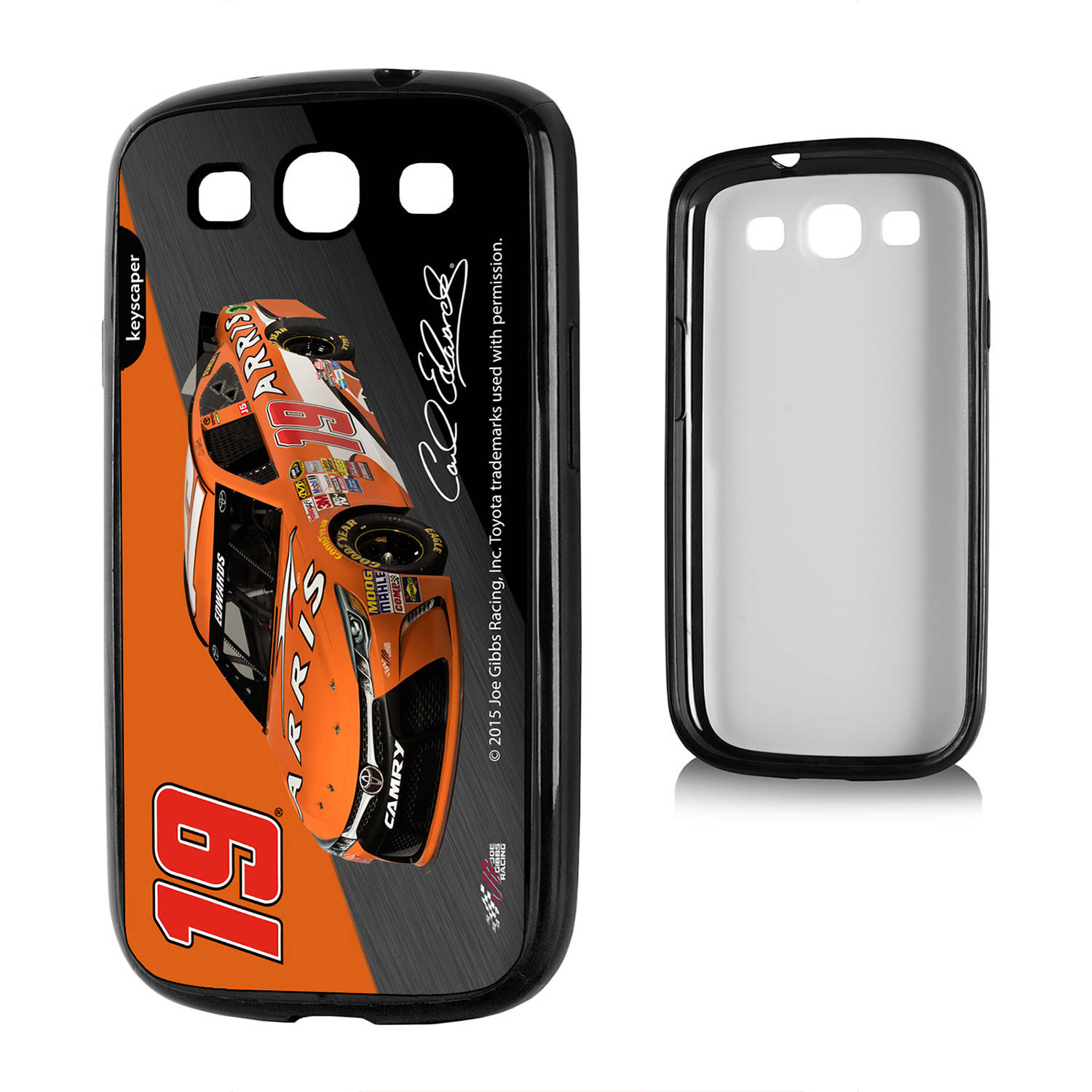 Carl Edwards #19 Galaxy S3 Bumper Case