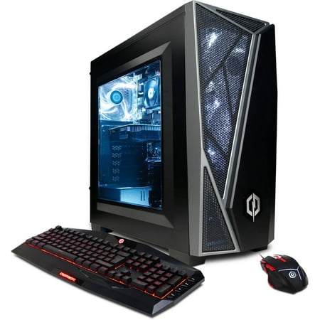 Cyberpowerpc Gamer Master Gma4400w Gaming Desktop Pc With Amd Ryzen 5 1600X Processor  8Gb Memory  2Tb Hard Drive And Windows 10 Home  Monitor Not Included